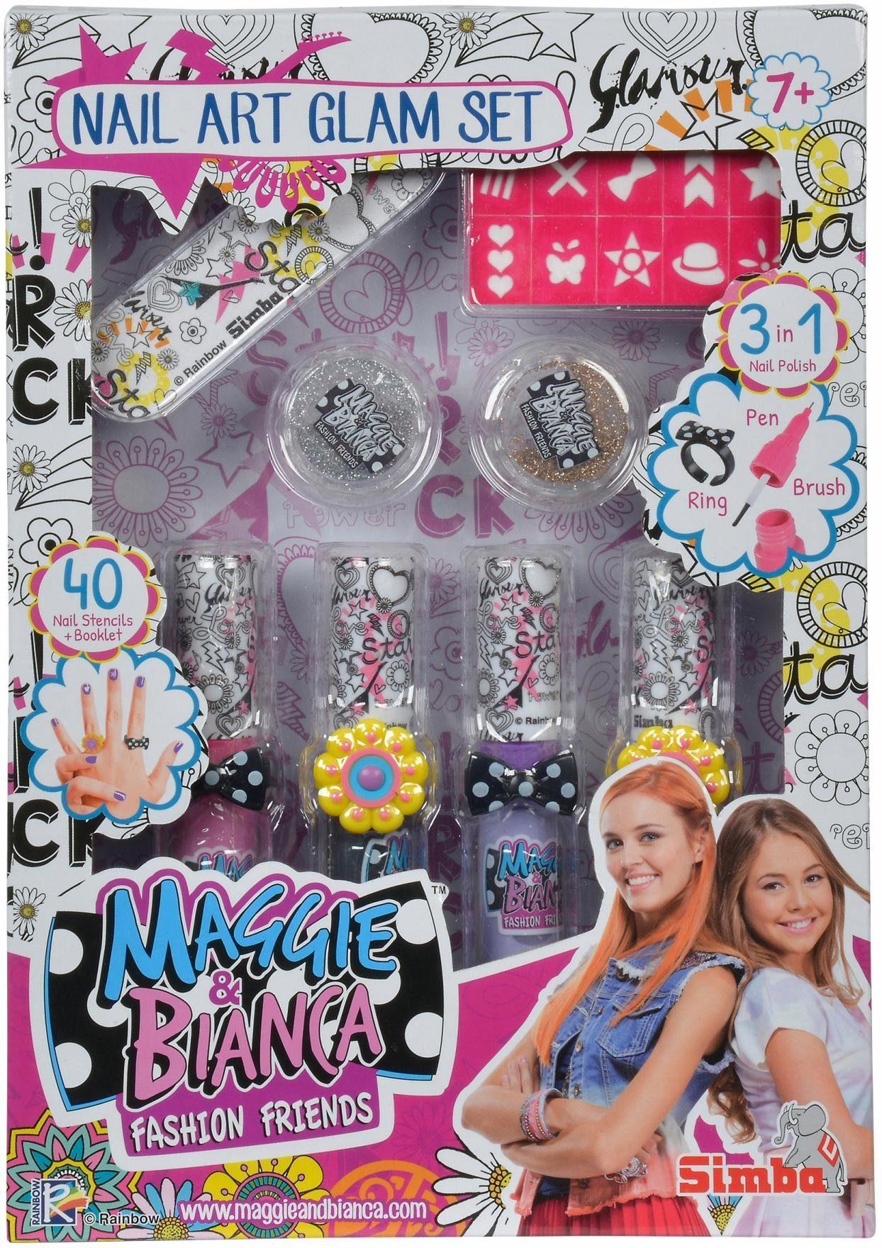 Simba Nagellack Set, »Maggie & Bianca Fashion, Nail Art Glam Set«