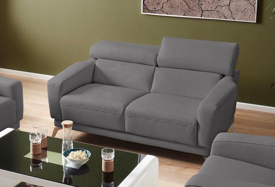 exxpo - sofa fashion 2-Sitzer, In 2 Bezugsqualitäten ...
