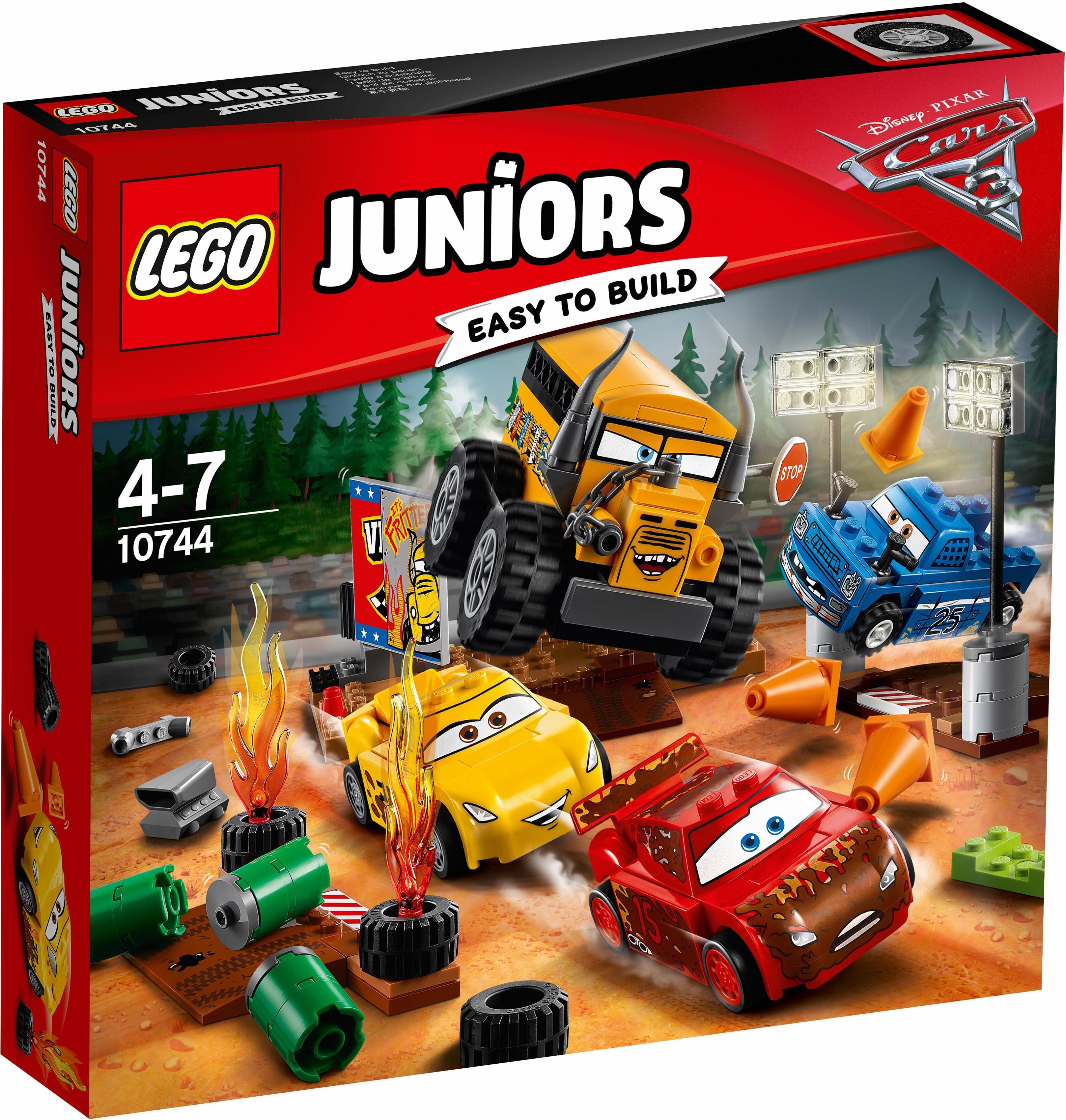 LEGO® Crazy 8 Rennen in Thunder Hollow (10744), »LEGO® Juniors & Disney Cars™«
