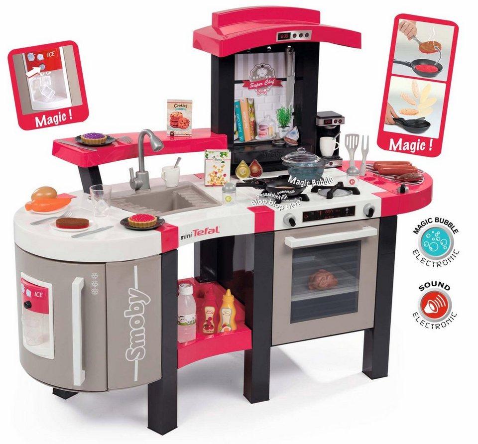 Smoby Spielküche mit Funktionen,  Tefal Super Chef Deluxe  online kaufen
