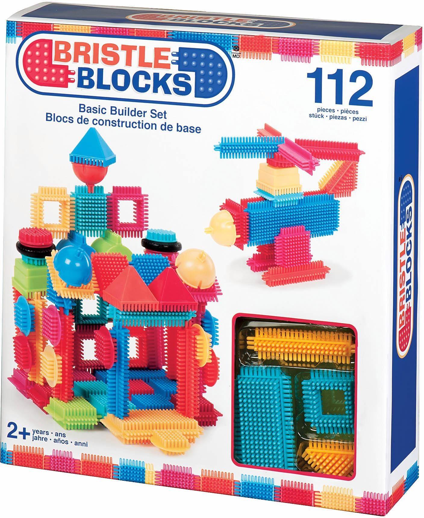 Bristle Blocks Bausteine Spielset, »Basic Set, 112 Teile«