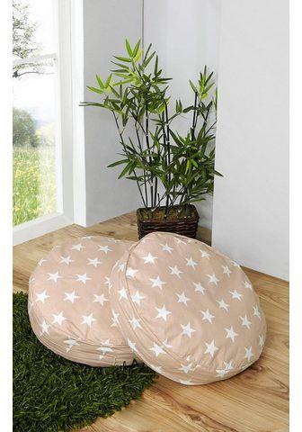 TICAA Apvali pagalvė 2 vnt. rinkinys