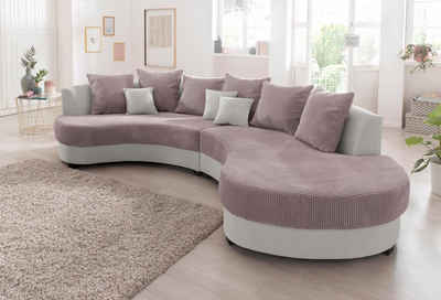 Sofa halbrund-geschwungen  XXL Sofa & XXL Couch online kaufen   OTTO