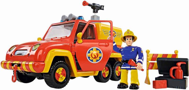 SIMBA Spielzeug-Feuerwehr »Feuerwehrmann Sam, Feuerwehrauto Venus mit Figur«, (Set)