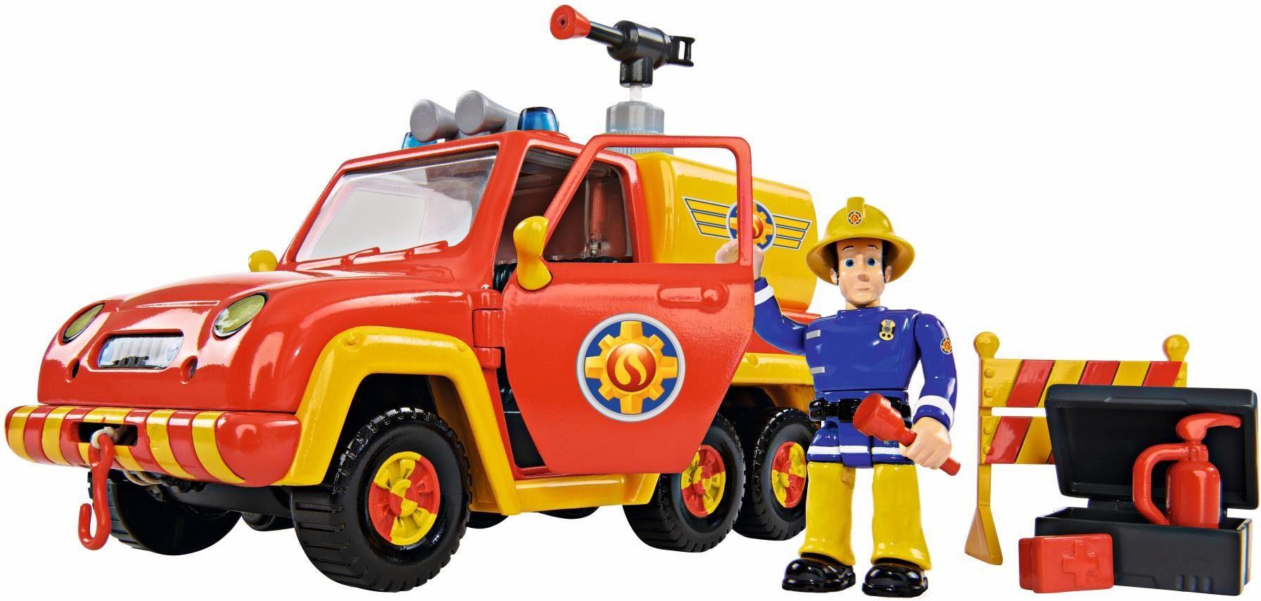 Simba Spielset mit Sound, »Feuerwehrmann Sam, Feuerwehrauto Venus mit Figur«