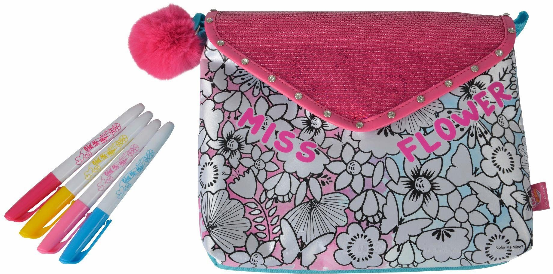 Simba Tasche zum Bemalen, »Color Me Mine, Couture Postal Bag«