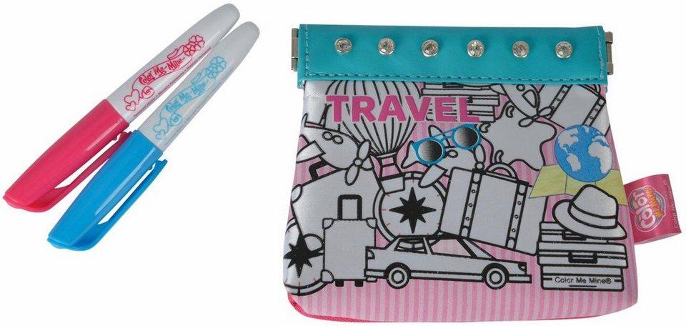 simba tasche zum bemalen color me mine glitter couture travel purse online kaufen otto. Black Bedroom Furniture Sets. Home Design Ideas