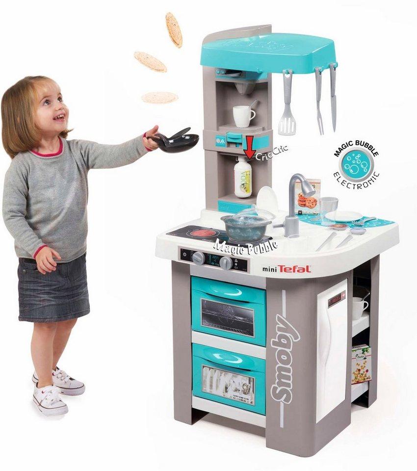 Smoby Spielküche mit Funktionen Tefal Sudio Bubble Küche