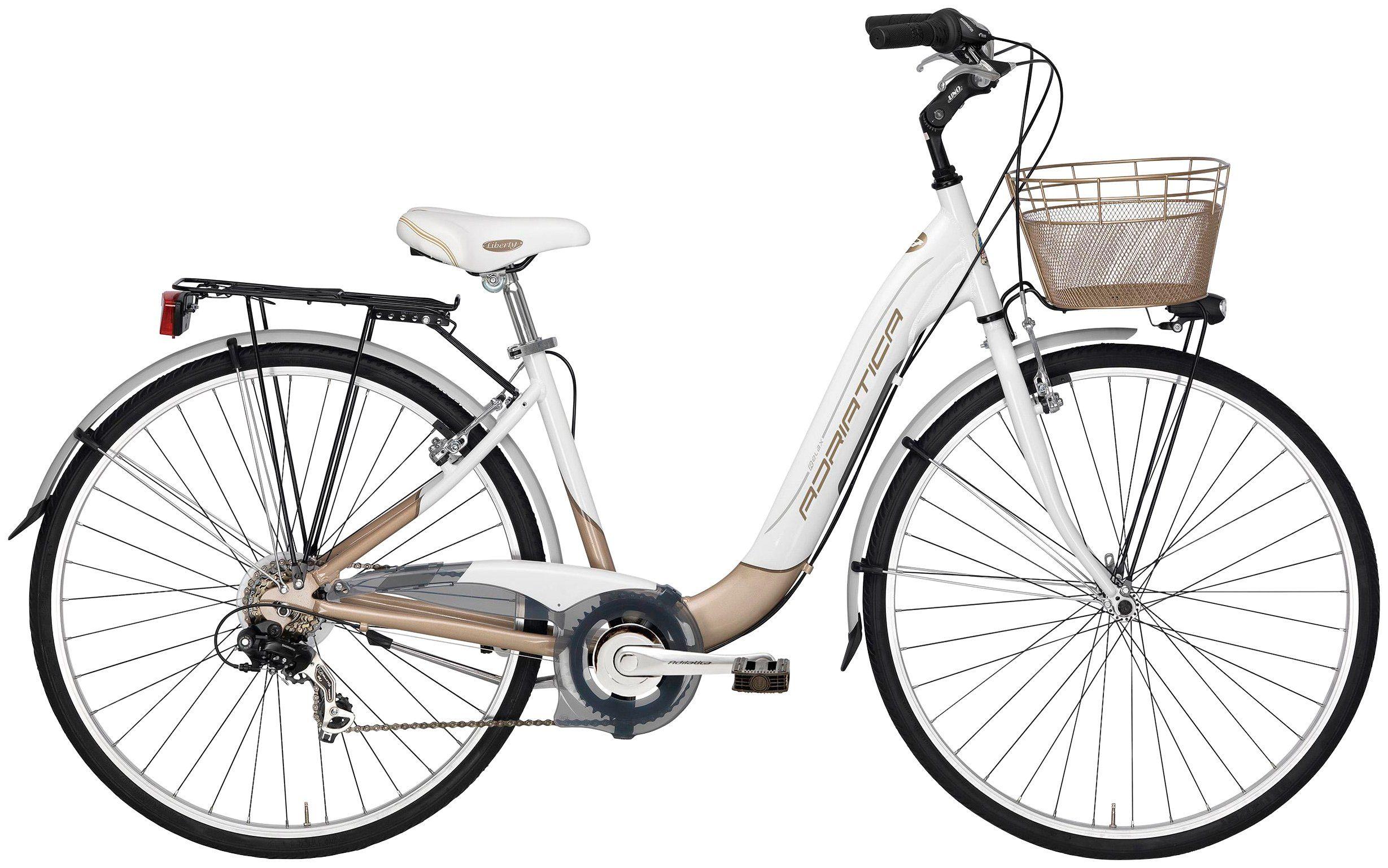 Citybike Damen »Relax«, 28 Zoll, 6 Gang, V-Bremsen