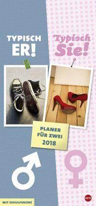 Kalender »Typisch Er - Typisch Sie. Planer für Zwei 2018«