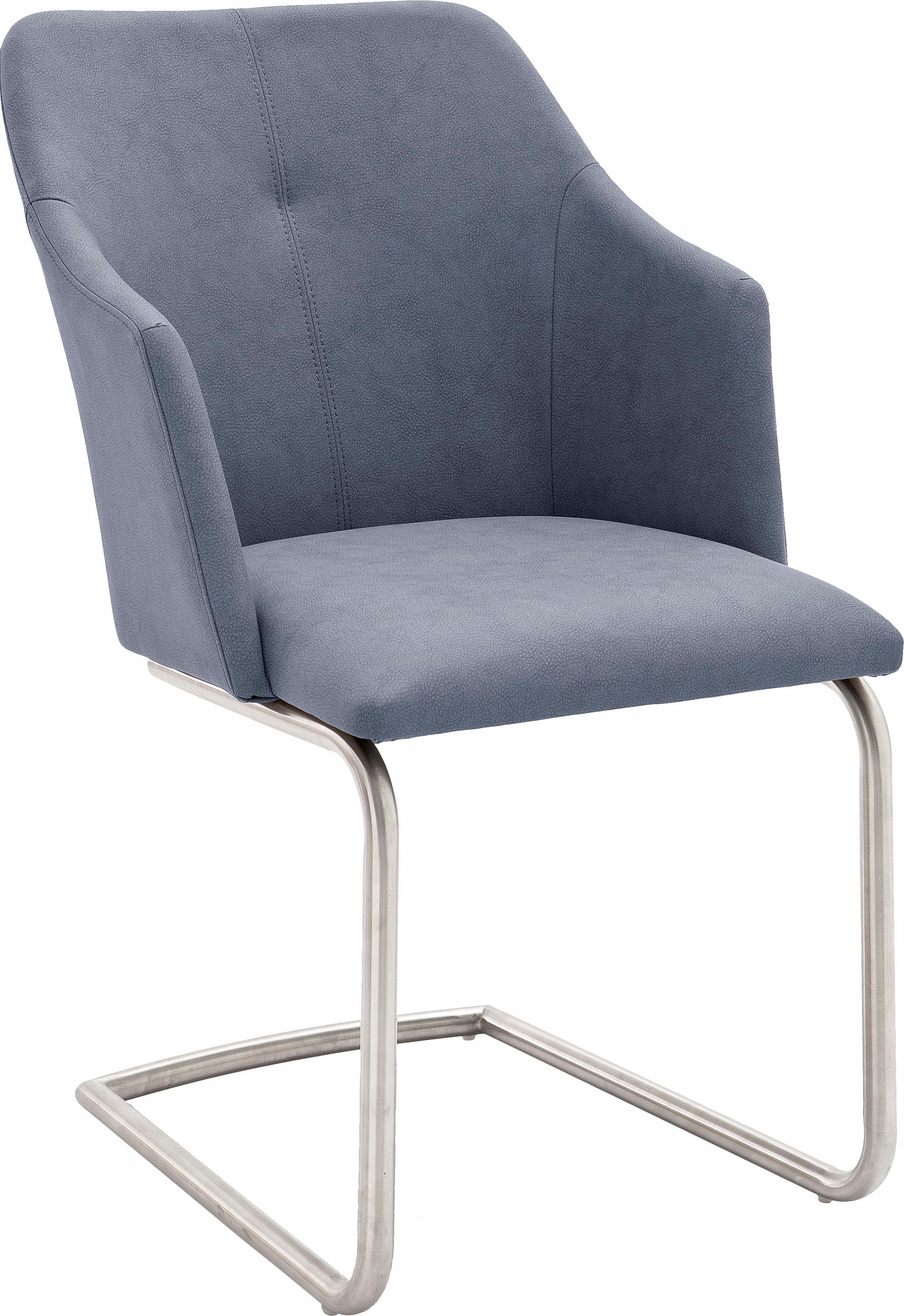 MCA furniture Esszimmerstuhl »Madita 4 Fuß Stuhl B eckig« 2er Set, Stuhl belastbar bis max. 140 kg online kaufen | OTTO