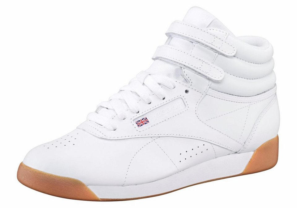 premium selection 9635f c93b2 Reebok Classic »Freestyle Hi« Sneaker, Strapazierfähiges Obermaterial aus  Leder online kaufen | OTTO