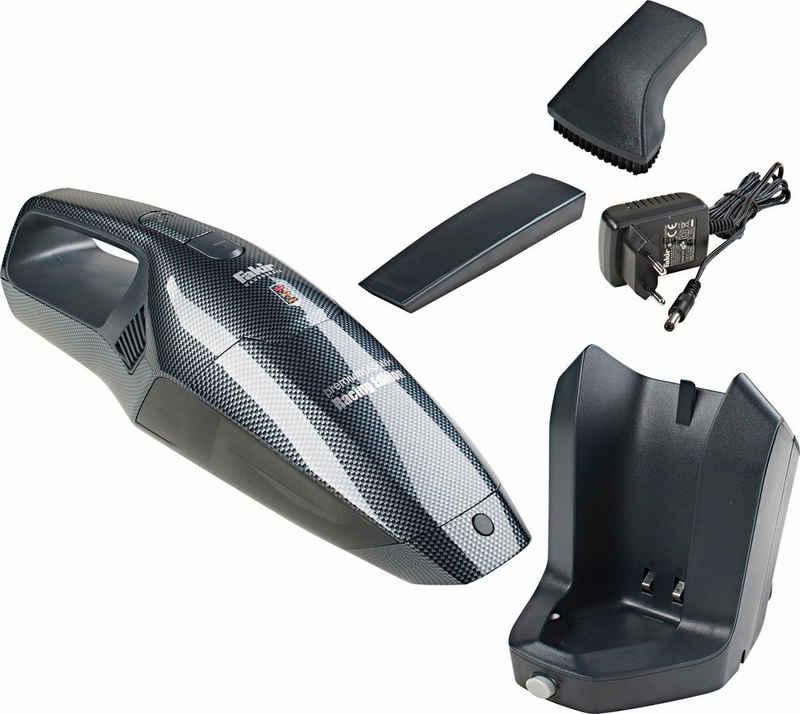 FAKIR Akku-Handstaubsauger premium AS WH Racing Edition, beutellos, kabellos, Autosauger, 28 Minuten Betriebsdauer