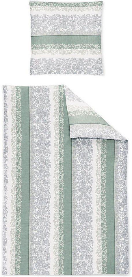Bettwasche Skara Irisette Mit Streifen Und Ornamenten Online Kaufen Otto
