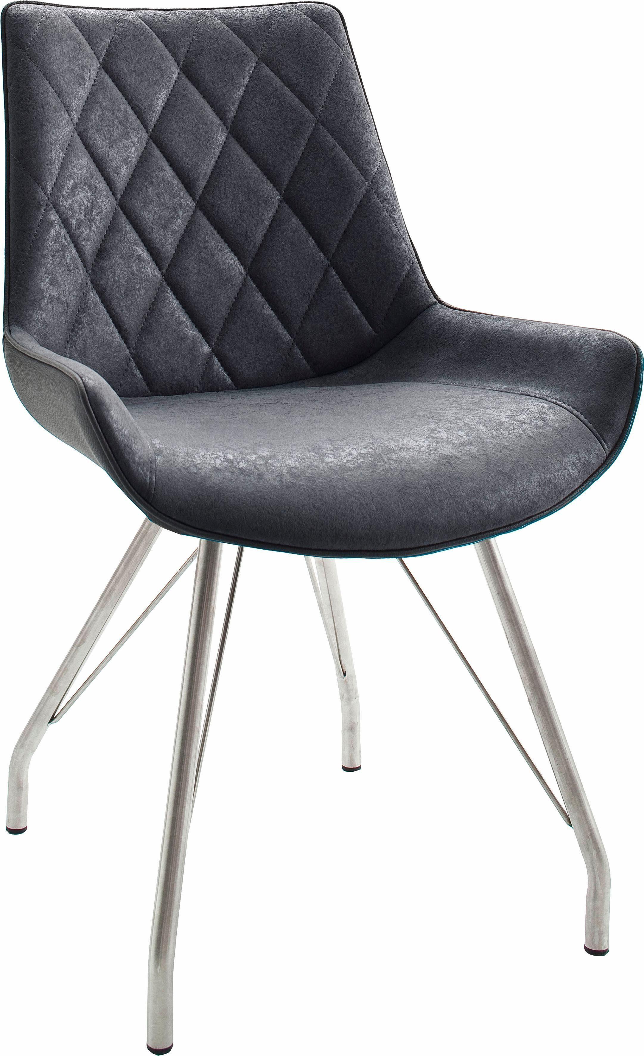 MCA furniture Freischwinger, Gestell aus gebürstetem Edelstahl online kaufen | OTTO