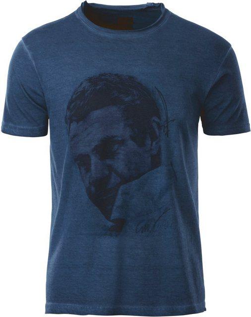 marco donati -  Shirt mit Rundhals