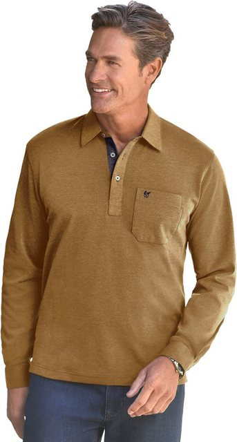 classic -  Langarm-Shirt mit Polokragen