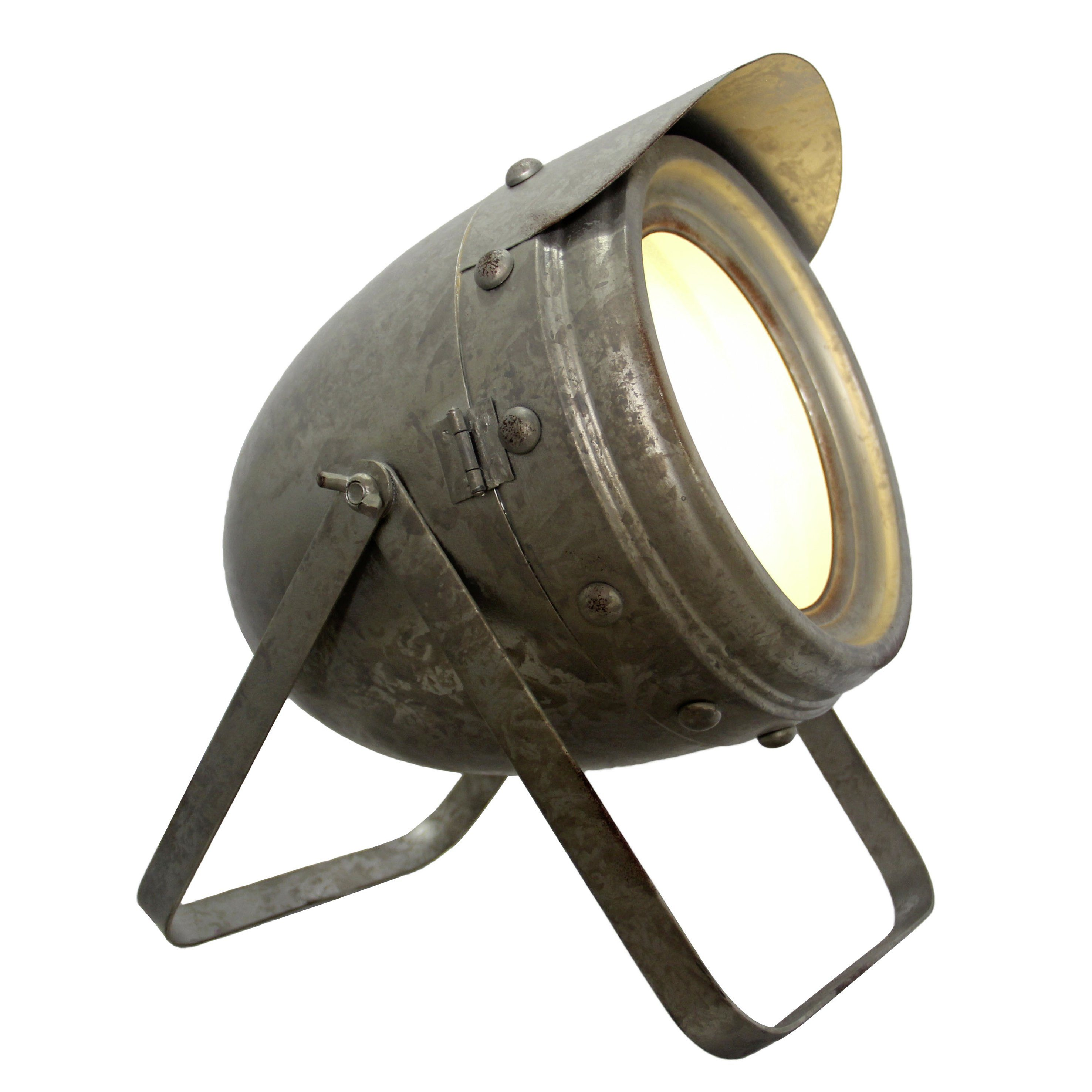 Brilliant Leuchten Ka Tischleuchte 25cm zink antik