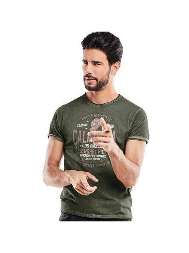 emilio adani Rundhals T-Shirt