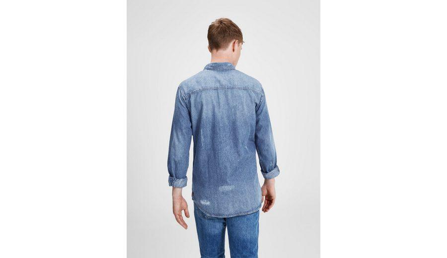 Surfen Günstig Online Freies Verschiffen Die Besten Preise Jack & Jones Lässiges Langarmhemd Mode Günstig Online Wählen Sie Eine Beste Ausverkauf 6bFJVE