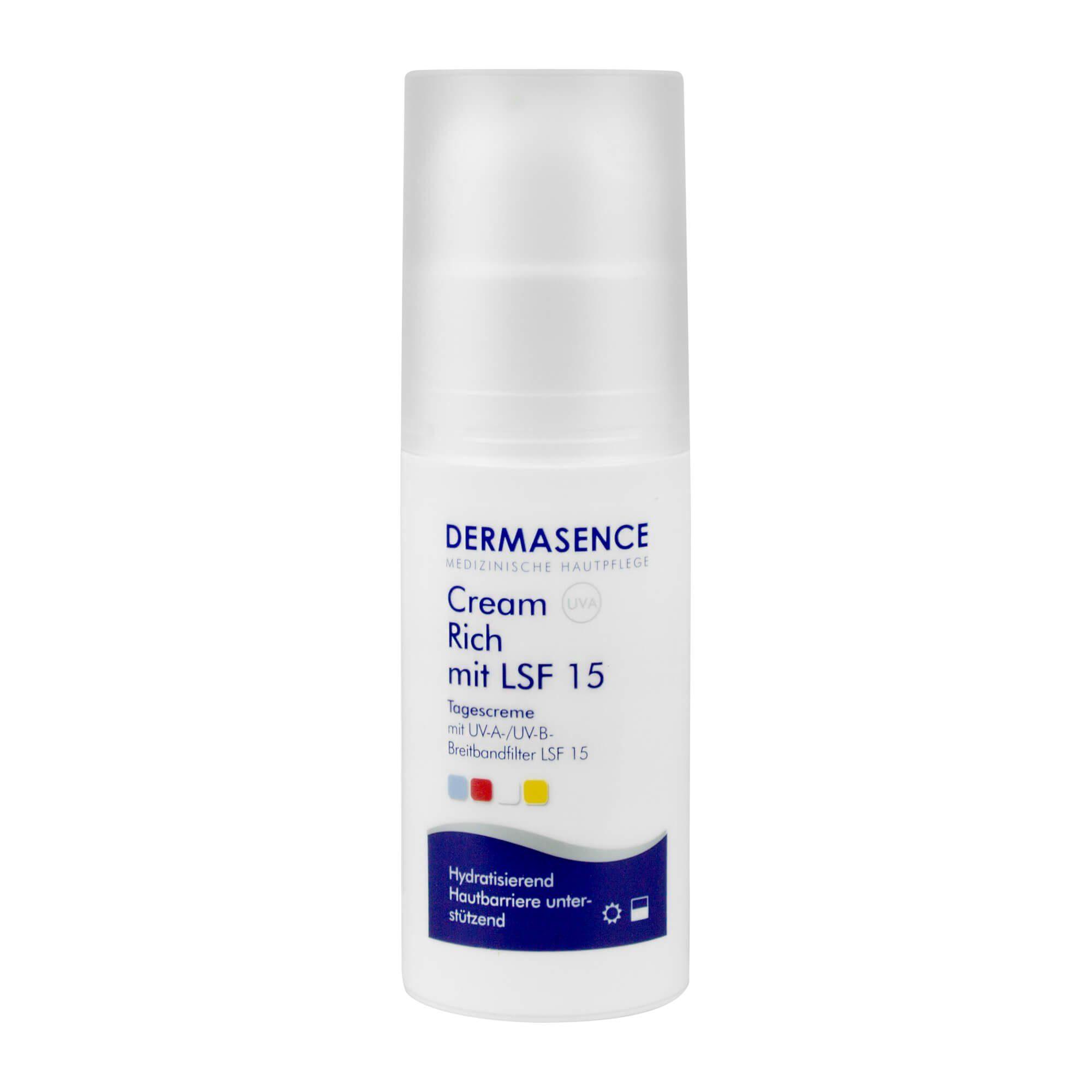 Dermasence Dermasence Cream Rich mit LSF 15 , 50 ml