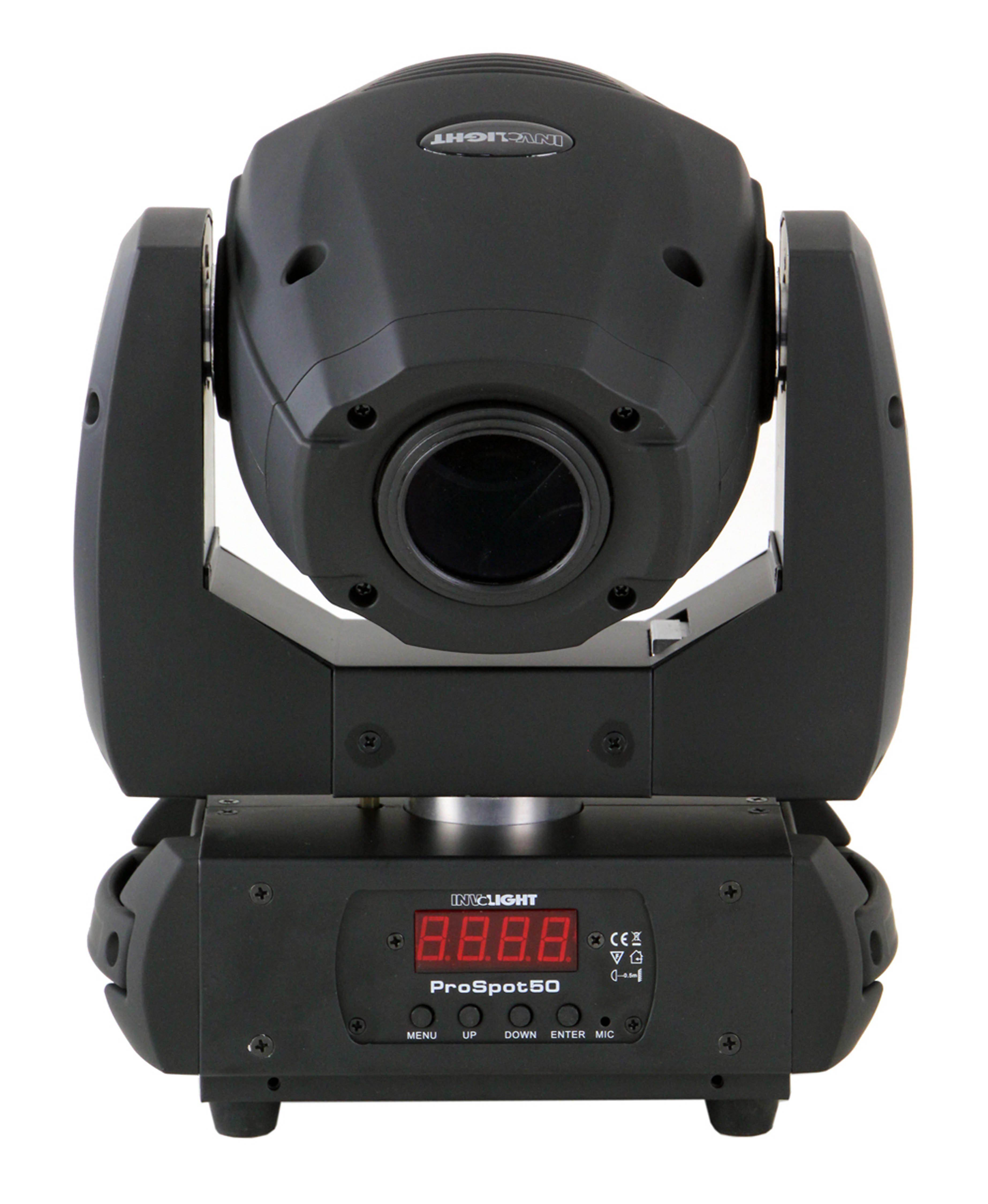 Involight Kopfbewegter Hochleistungs LED Spot »PROSpot50«
