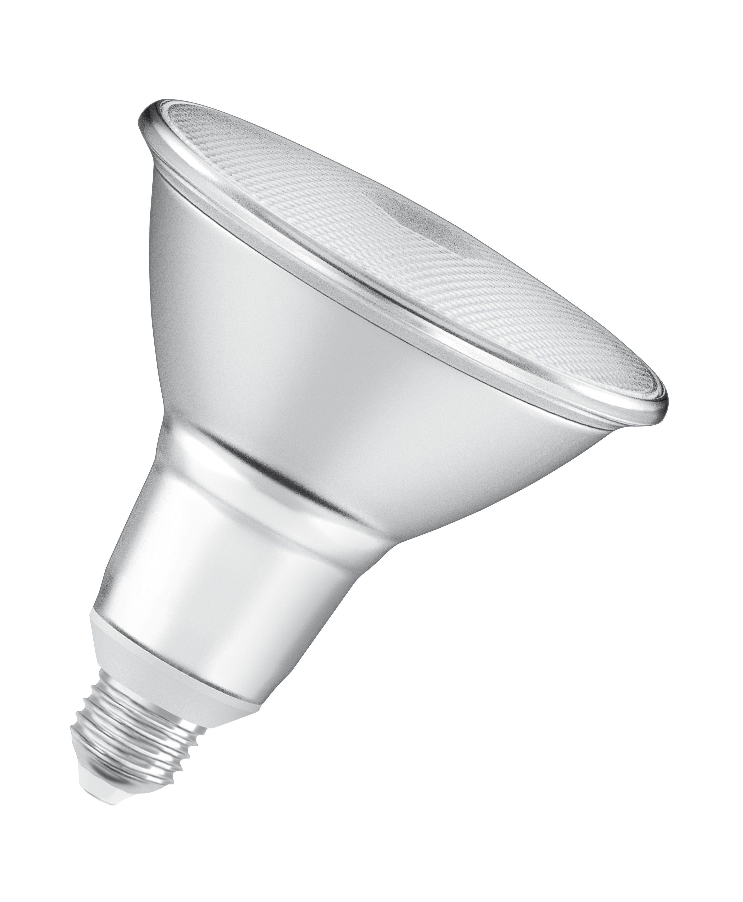Osram PARATHOM PAR38 ADV - Dimmbare LED-Lampe, Retrofit-Sockel »P PAR 38 100 30° 12.5 W/827 E27«