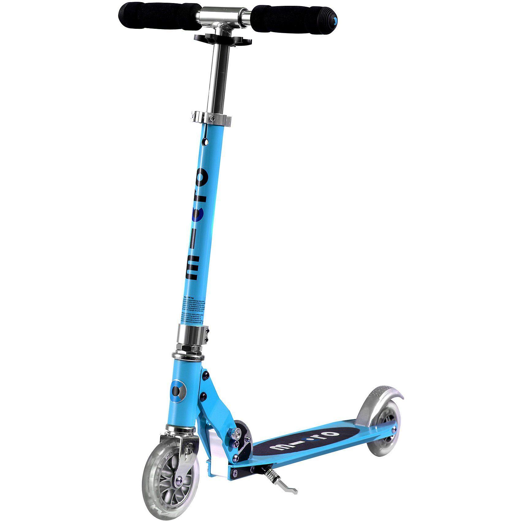 Micro Scooter sprite, hellblau