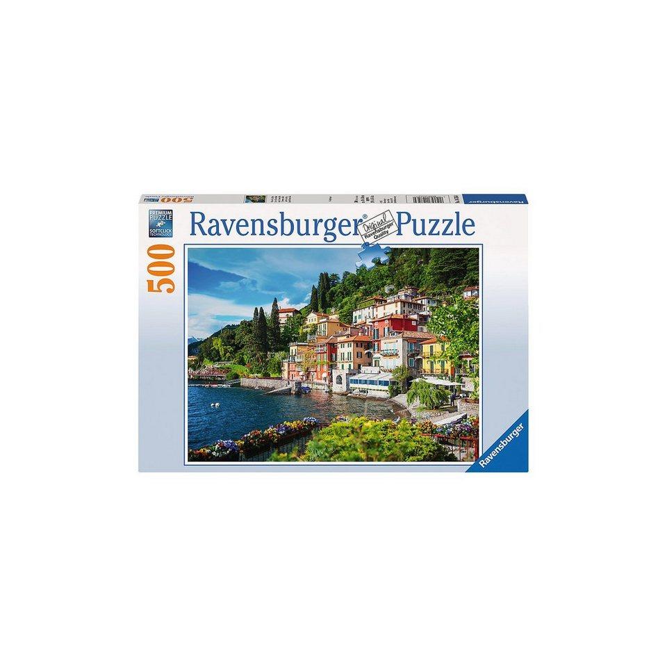 Ravensburger Puzzle 500 Teile, 49x36 cm, Comer See, Italien online kaufen
