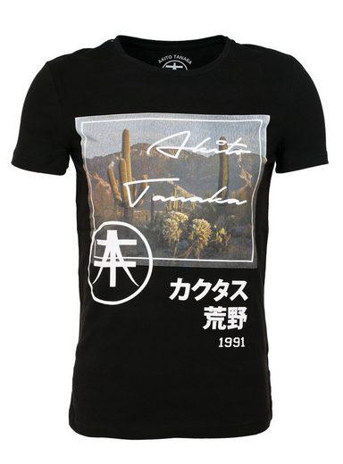 Akito Tanaka Print-Shirt Takao, mit Fotoprint vorne