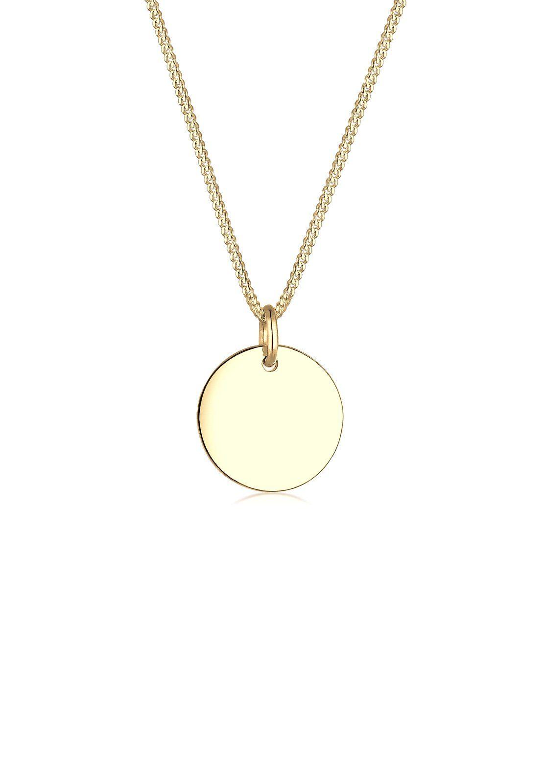 Elli Halskette »Kreis 585 Gelbgold«