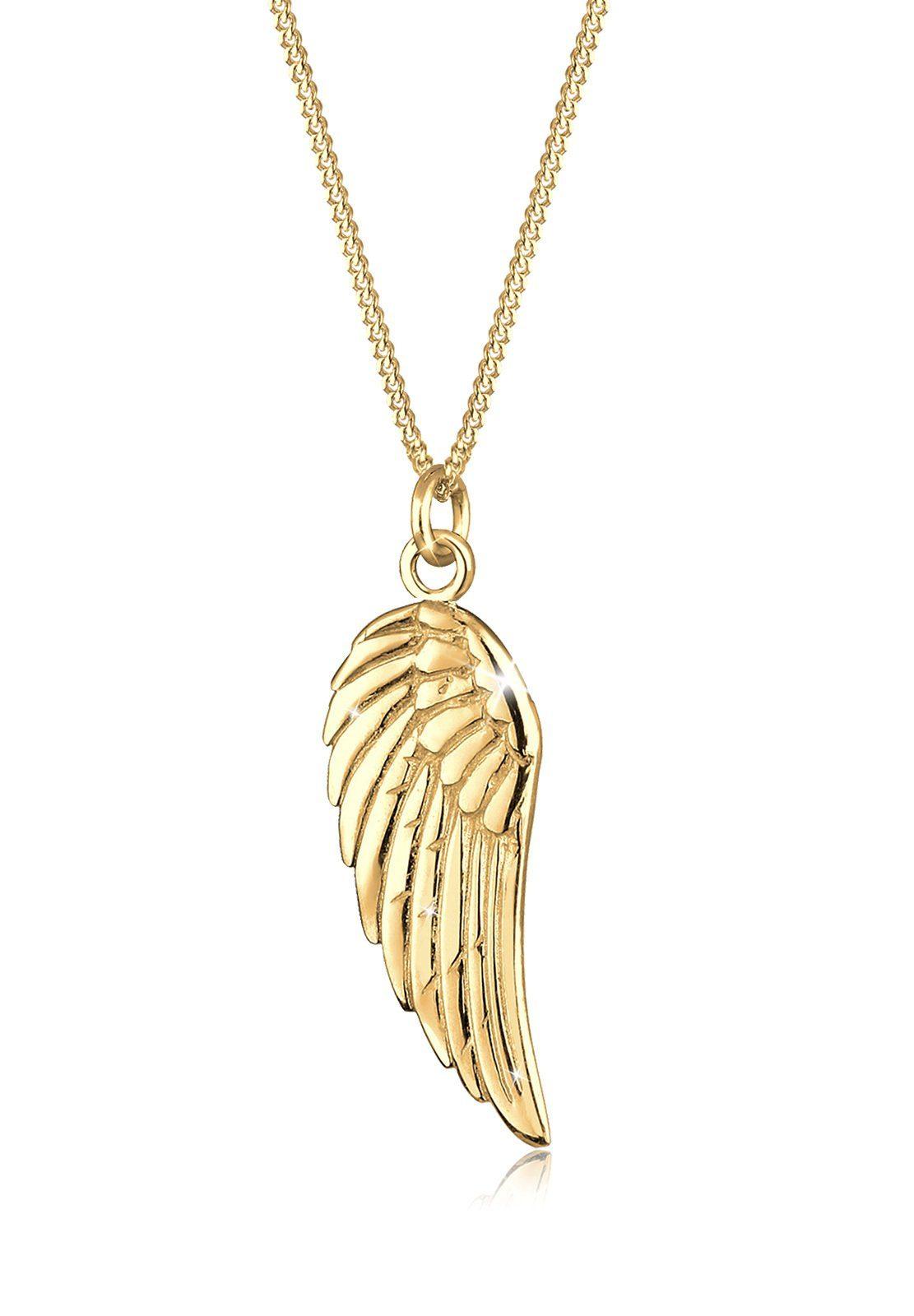 Goldhimmel Halskette »Flügel Boho 925 Sterling Silber Noelia«