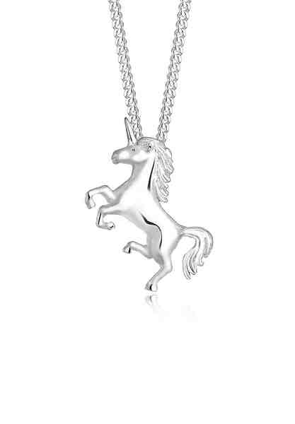 Elli Halskette »Einhorn Unicorn Magic 925 Sterling Silber«