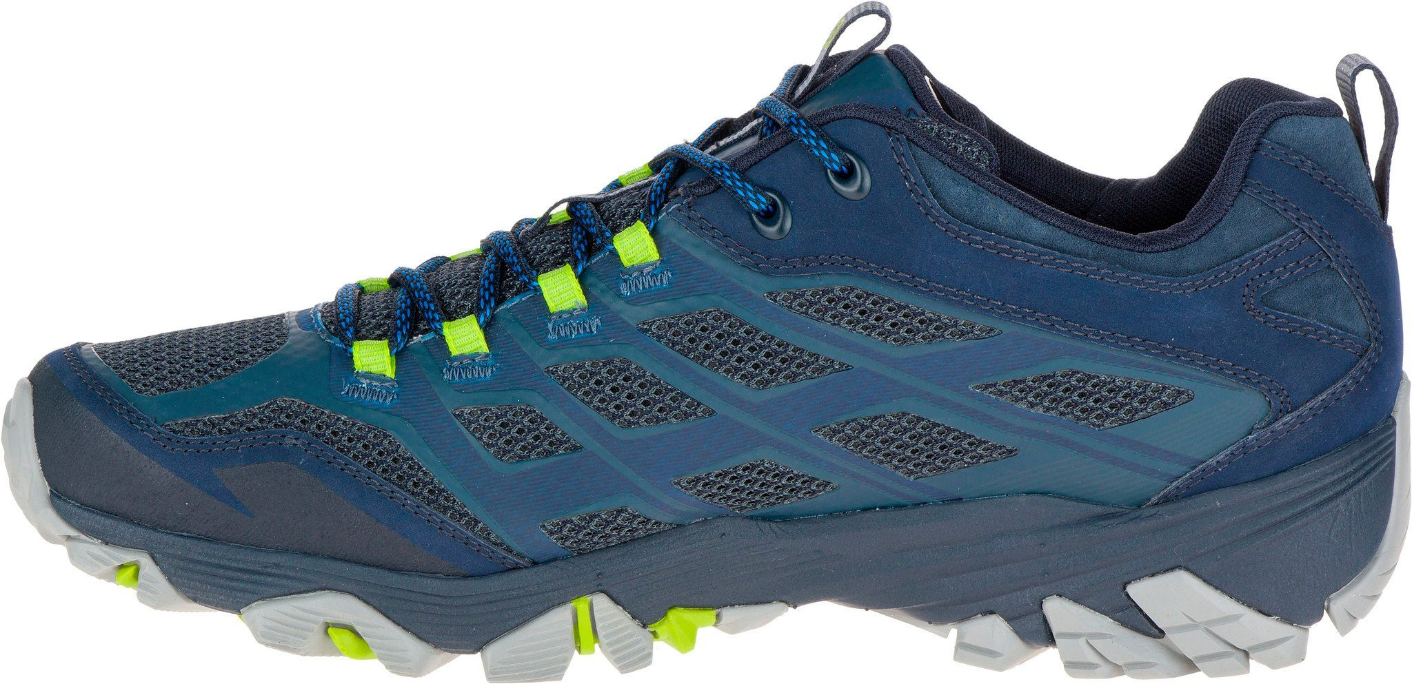Merrell Kletterschuh Moab FST GTX Shoes Men  blau