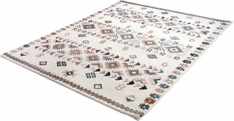 Wollteppich »Royal Berber 113«, THEKO, rechteckig, Höhe 18 mm