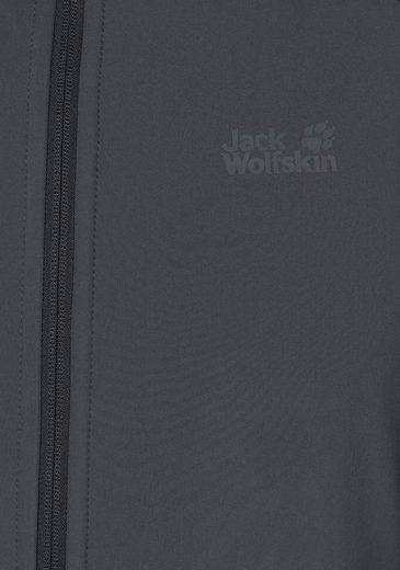 Jack Wolfskin Softshelljacke ZENON SOFTSHELL, elastisch