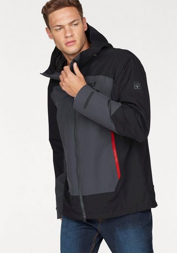 Jack Wolfskin Funktionsjacke NORTH SLOPE, aus der 3-in-1 System Regular-Serie