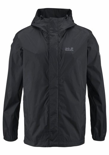 Jack Wolfskin Regenjacke CLOUDBURST MEN, Absolut wasser- & winddicht