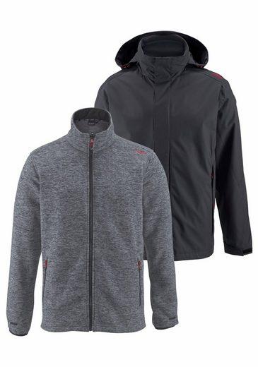 Cmp 3-in-1 Function Jacket, Jacket Outside Waterproof