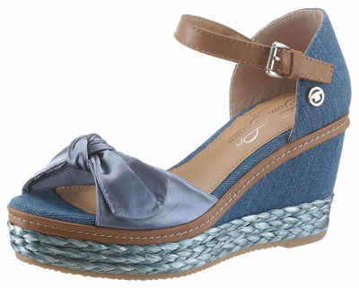 Kaufen Billig Authentisch Günstig Kaufen Spielraum Store TOMMY JEANS Damen Schuhe Wedges mit Bastsohle grau Offizielle Zum Verkauf almQwH0