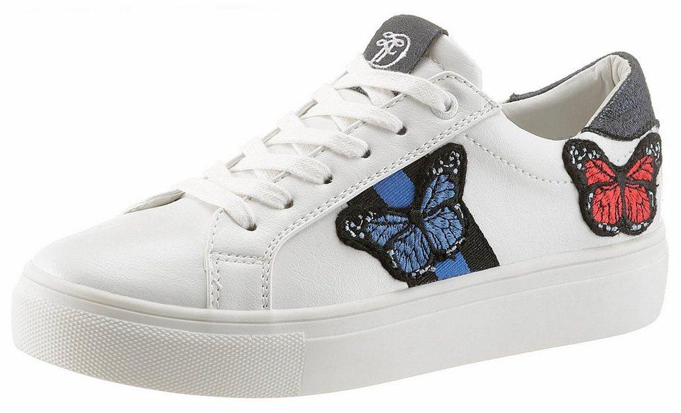 release date: 66d6d 31d13 TOM TAILOR Sneaker mit süßer Schmetterlingsstickerei online kaufen | OTTO