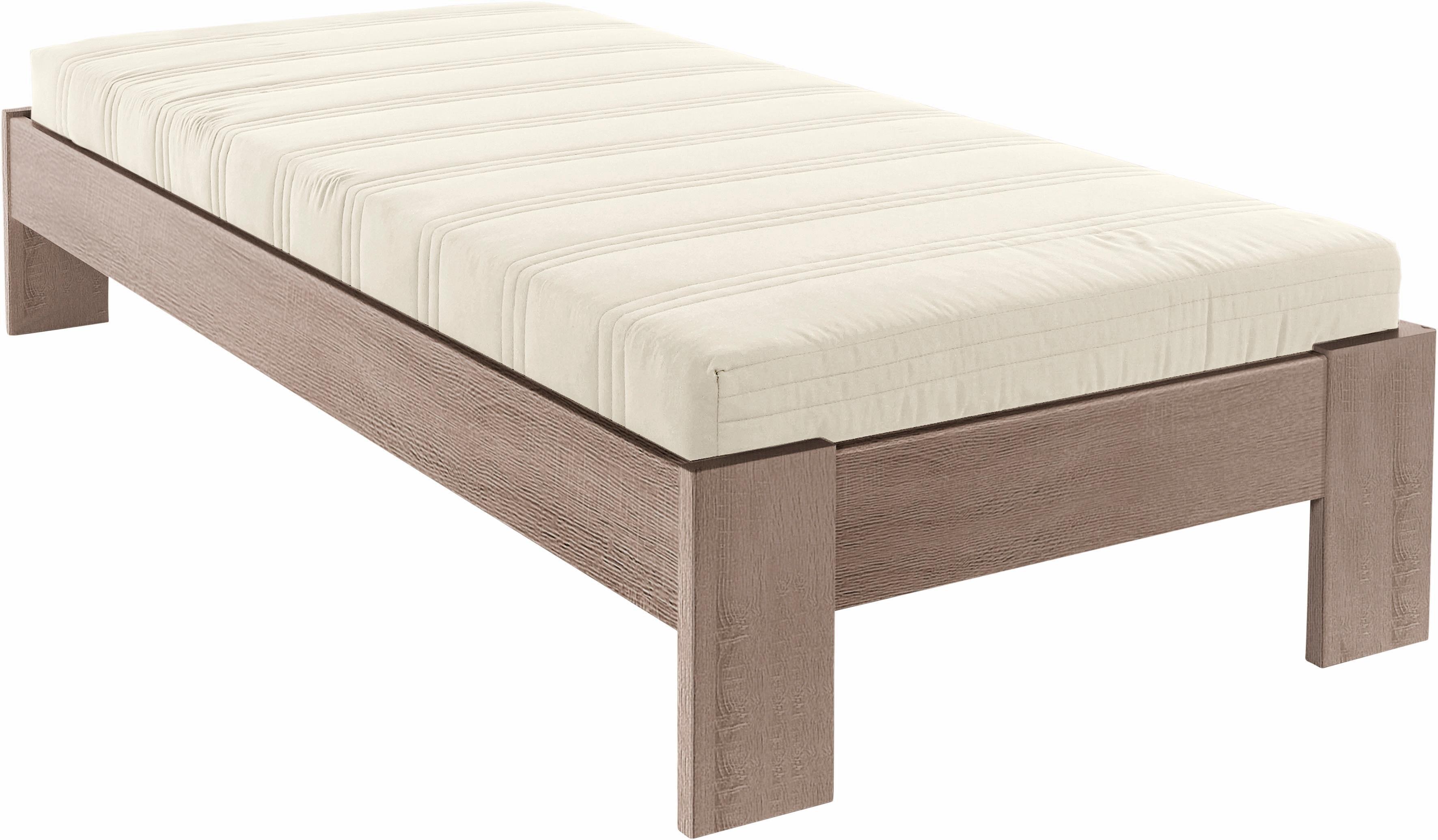 Futonbett, in 4 verschiedenen Ausführungen | Schlafzimmer > Betten > Futonbetten | Weiß - Hell - Dunkel - Schwarz
