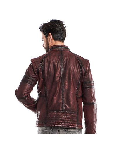 Emilio Adani Stylish Biker Leather Jacket