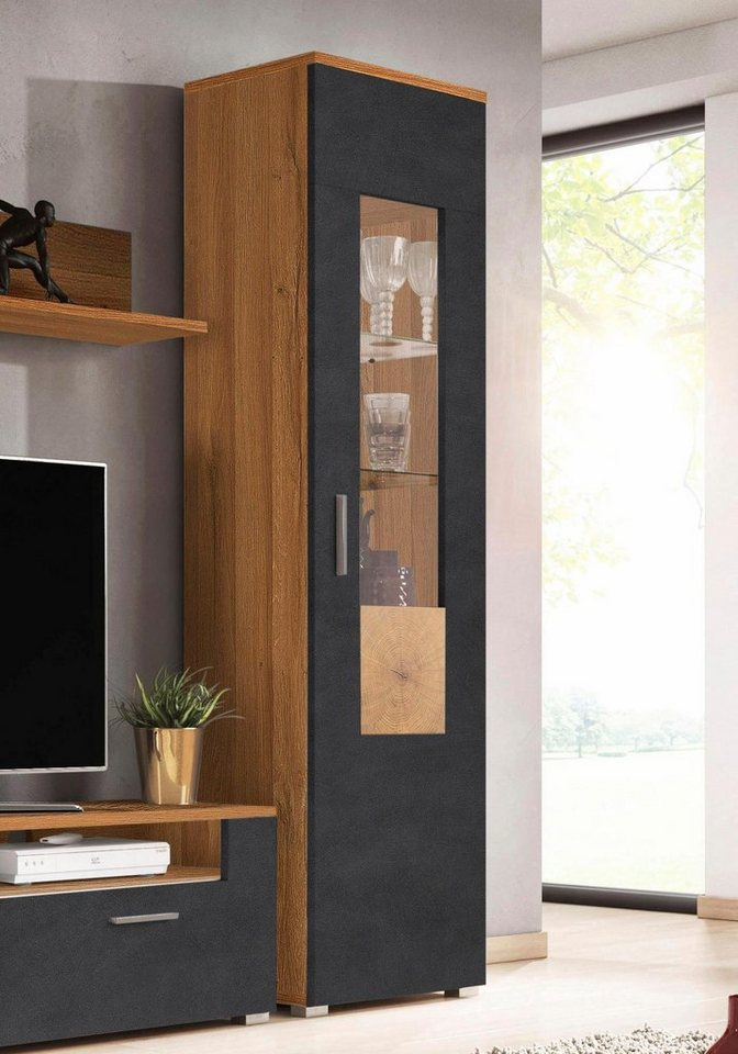 vitrine wobona h he 180 cm online kaufen otto. Black Bedroom Furniture Sets. Home Design Ideas