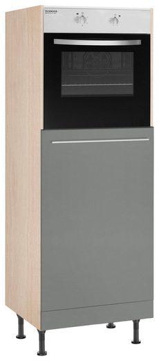 OPTIFIT Backofenumbauschrank »Bern« 60 cm breit, 176 cm hoch, mit höhenverstellbaren Stellfüßen, mit Metallgriff