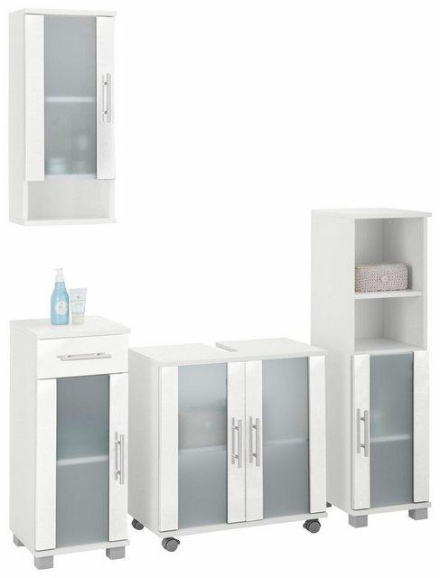 Badezimmer Sets - Schildmeyer Badmöbel Set »Cantara«, (Set, 4 tlg)  - Onlineshop OTTO