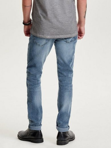 ONLY & SONS Loom Camp Skinny Fit Jeans