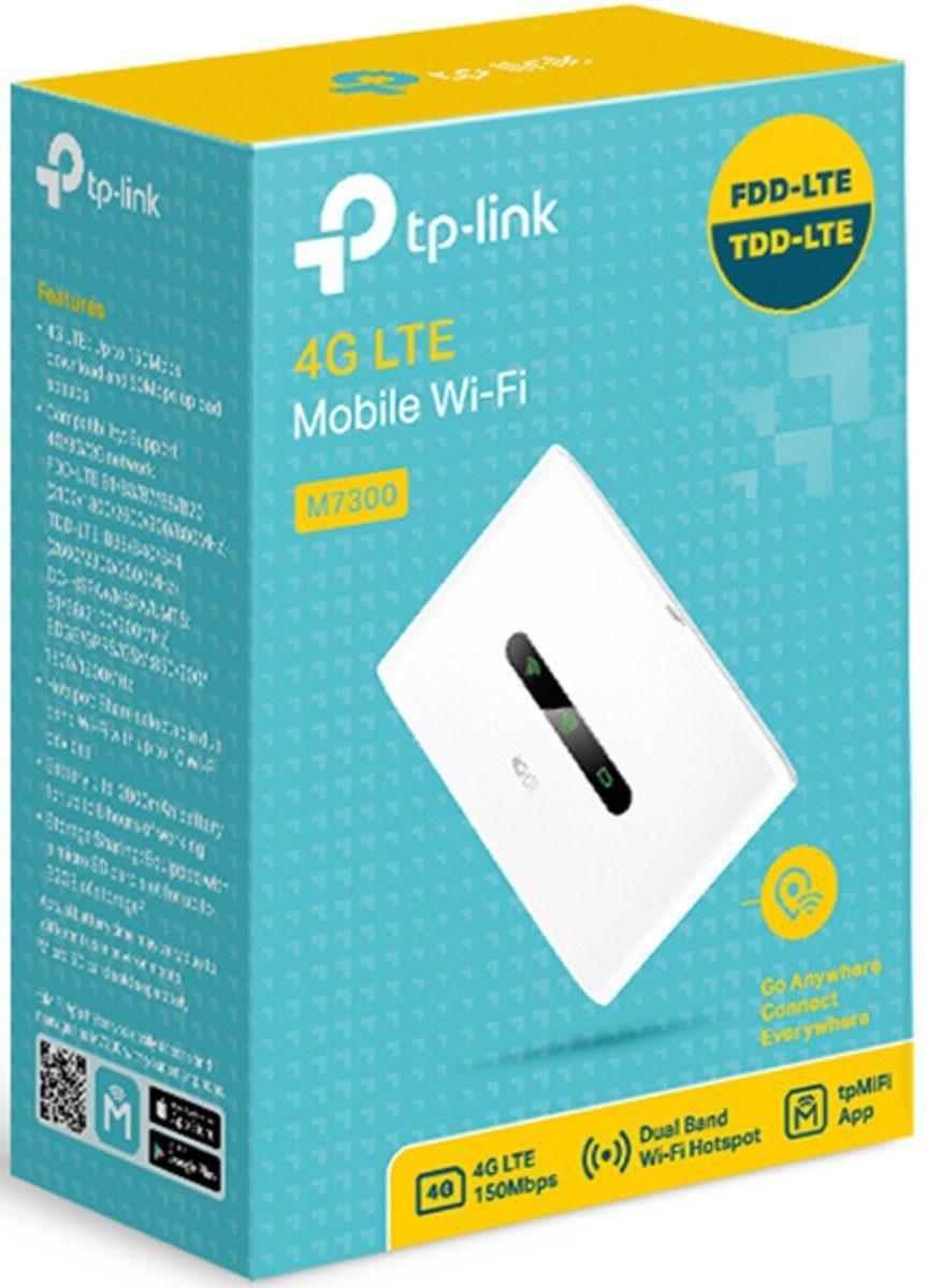 TP-Link Mobiler Router »M7300 Mobiler 4G / LTE WLAN«