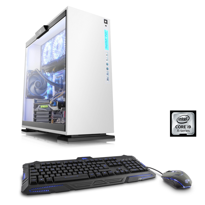CSL Extreme Gaming PC | i9-7900X | GTX 1080 Ti | 32GB DDR4 RAM | SSD »HydroX T7915 Wasserkühlung«