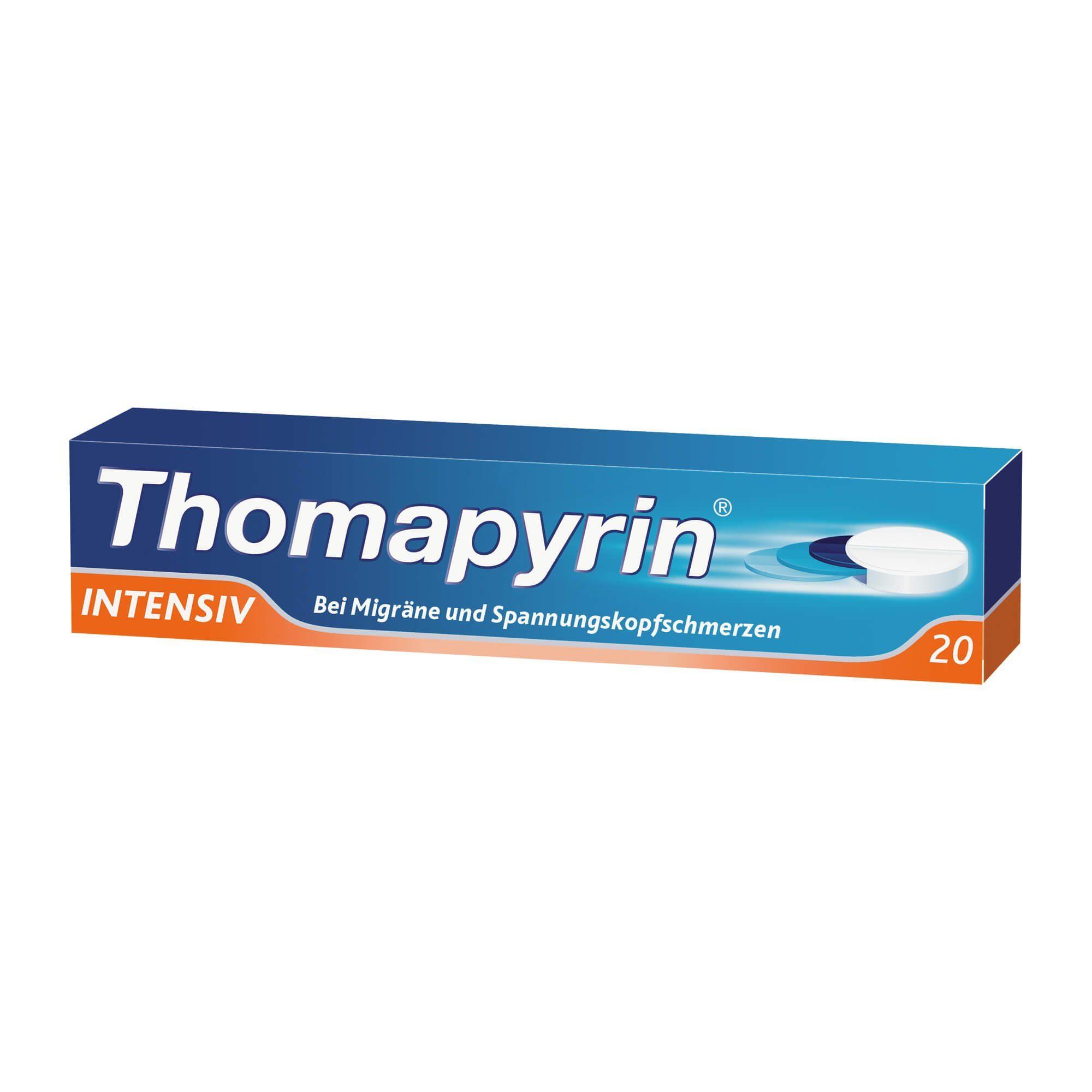 Thomapyrin intensiv Tabletten, 20 St